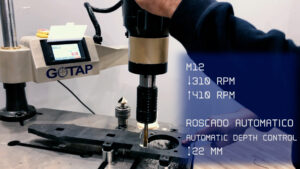 Laser tapping with REVM20